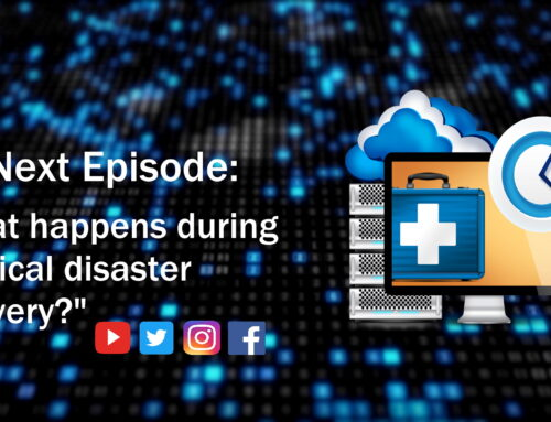What happens during a typical disaster recovery?